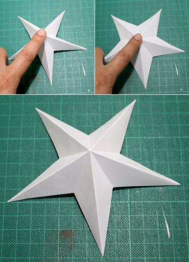ハート 折り紙 星 立体 折り紙 : masi-maro.com