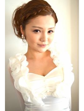 【2015年版】自分で出来る結婚式お呼ばれヘアカタログ|マシマロ